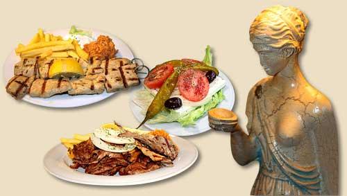 Original Griechische Speisen Im Restaurant Pallas Ihr Griechisches